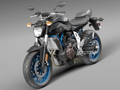 model of Yamaha FZ 07 bike model of 2016 Yamaha Fz 07, 3d Studio, Sportbikes, Hot Bikes, Motor Car, Vans, Racing, Vehicles, Dream Machine