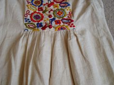 Vintage J. Magnin Maxi Dress with Embroidered by ThePassingOfTime, $39.99