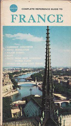 Vintage Pan Am Paris travel guide