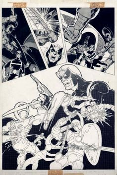 Star-Lord in Marvel Preview #11, page 21 by John Byrne & Terry Austin.