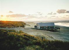 Sunset on the seaside