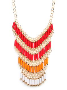 Sunset Chandelier Bib  $28