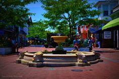 Street Fountain. Washington Street Mall Cape May, NJ