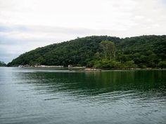 Vista do Hotel Pierre na Ilha de Itacuruçá.