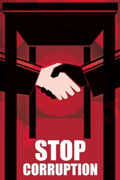 Stop corruption poster Poster On Corruption, Political Corruption, Political Posters, Political Art, Newspaper Layout, Dancing Drawings, Very Scary, Motivational Pictures, Eco Friendly House