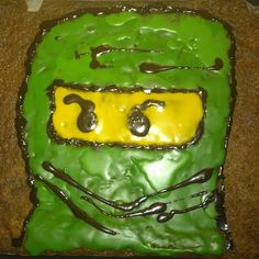 Ninjago cake... a must for the 6th birthday of a LEGO fan