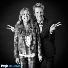 Emily VanCamp and Gabriel Mann