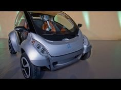Hiriko is full-sized prototype of the folding electric car set to roll out in 2013. Hiriko is two-seater car that reduces the parking space of three car to one when folded.