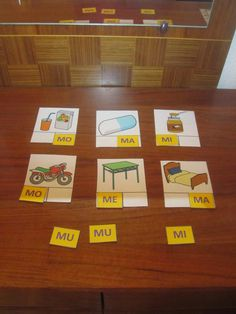 La psico-goloteca: CUADERNOS LECTO-FONOLÓGICOS Preschool Learning Activities, Sorting Activities, Literacy Centers, Montessori, Spanish, Language, Teaching, Education, Speech Therapy
