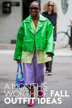 Ahead, we're rounding up some fun fall outfit ideas courtesy of show and presentation attendees. Trust us: you'll want to bookmark this one. #fashion #lookoftheday Copenhagen Street Style, Copenhagen Fashion Week, Rounding, City Chic, Thrifting, Fall Outfits, Trust, Fashion Photography, Presentation