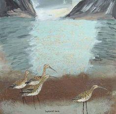 Darryl Nantais Gallery, Ingeborg Smith Black Mountain, Bird, Gallery, Animals, Illustrations, Drawings, Animales, Roof Rack, Animaux