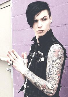 Andy Biersack- My heart beats so fast looking at his pictures!! ♥