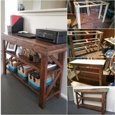 Pallet Computer Desk/Buffet Table Desks & Tables
