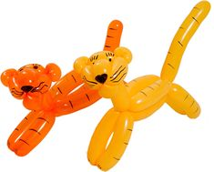 Jak z balona zrobić pieska, kotkę, tygrysa, żyrafa, i łabędzia.