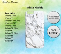 marble iphone 7 case iphone case iphone by EverLunaStore Iphone 7 Cases, Iphone 7 Plus, Phone Case, Iphone 6, Marble Case, 6s Plus, Etsy, Design