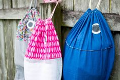 (9) Name: 'Sewing : DIY Fish Laundry Bag