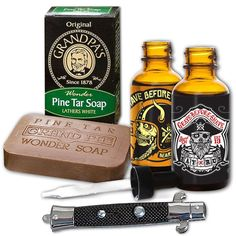 Hey, I found this really awesome Etsy listing at https://www.etsy.com/listing/204400005/grave-before-shave-beard-pack