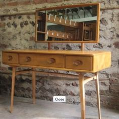 Vintage Ercol dressing table