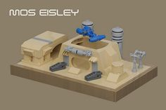 Mos Eisley par pasukaru76 - Come visit us at www.hothbricks.com, www.lordofthebric... & www.brickheroes.com for up to date news about LEGO stuff