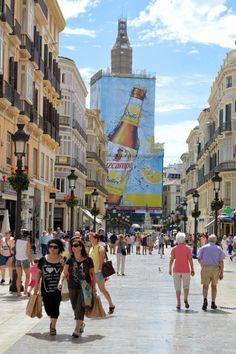 moving to Málaga's Centro Histórico