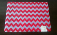 NWT Sonoma Life +Style Red Chevron Placemats (set of 4) #Sonoma