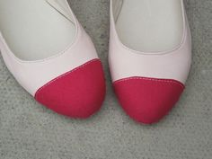 """Made in our 1 day """"Ballet Pumps for Beginners"""" course - http://icanmakeshoes.com/courses"""
