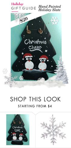 """""""Holiday Gift Guide - Holiday Slate"""" by sierraday ❤ liked on Polyvore"""