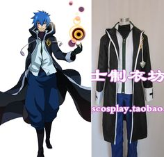 Click to Buy << Free Shipping Cosplay Costume Fairy Tail Jellal Fernandes  Cosplay. >>