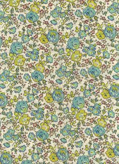 Liberty Tana Lawn Fabric  Felicite 6x27  fabric by MissElany,