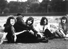 King Crimson, 1969 (little Sinfield there so young…)