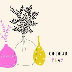 #colourplay Susan Driscoll Pattern/illustration designer