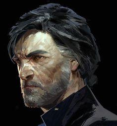 Dishonored 2 Concept Art // Corvo