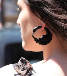 Black Swan Earrings