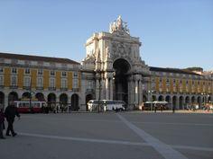 Plaza du comercio - Lisbona