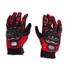 A, Riding Protective Gloves Red XL-size Bicycle Motorcycle Motorcycle Gear: Bid: 12,14€ Buynow Price 12,14€ Remaining 06 dias 01 hr…