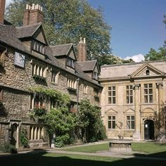 size: Photographic Print: St Edmund Hall in Oxford, Century by CM Dixon : Dover England, Oxford England, British Isles, Britain, Beautiful Places, Saints, Watford, Homeland, House Styles
