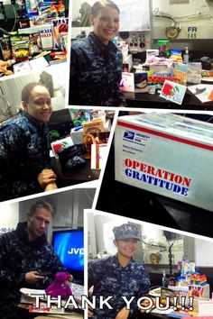 Today, our employees are participating in Operation Gratitude - Sending Care Packages to U.S. Military Operation Gratitude. Thank you, veterans!