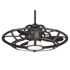 Laurel Foundry Modern Farmhouse Wilburton 3 Blade Outdoor Ceiling Fan with Remote Best Ceiling Fans, Ceiling Fan With Remote, Outdoor Ceiling Fans, Caged Ceiling Fan, 3 Blade Ceiling Fan, Pergola Lighting, House Lighting, Bedroom Lighting, Kitchen Lighting
