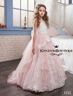 Flower girl dress 16-1512 - kingdom.boutique