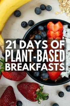Plant Based Diet Meal Plan for Beginners: Kickstart Guide! - Plant Pot - Ideas of Plant Pot - 21 Days of Plant Based Recipes for Weight Loss Plant Based Diet Meals, Plant Based Whole Foods, Plant Based Eating, Plant Based Recipes, Raw Food Recipes, Diet Recipes, Diet Tips, Smoothie Recipes, Easy Recipes