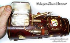 Steampunk science class bracer
