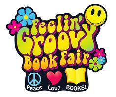 Groovy Book Fair: Peace, Love, BOOKS! | Scholastic Book Fairs