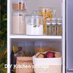 Shopping for Kitchen & Dining - 𝔻𝕠 𝕐𝕠𝕦 𝕃𝕚𝕜𝕖? - Shopping for Kitchen & Dining Kitchen Organization - Kitchen Pantry Design, Kitchen Organization Pantry, Diy Kitchen Storage, Organized Pantry, Refrigerator Organization, Organised Kitchen Diy, Organizing Ideas For Kitchen, Organised Home, Ikea Food Storage