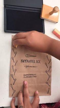 Baking Packaging, Dessert Packaging, Food Packaging Design, Book Packaging, Brownie Packaging, Sandwich Packaging, Kraft Packaging, Shirt Packaging, Simple Packaging