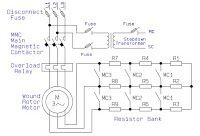 Electrical and Electronics Engineering: Wound Rotor Motor Power Circuit