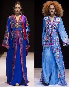 Caftans Zineb Joundy lors de l'Oriental Fashion Show en Azerbaïdjan