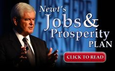 Newt Gingrich's website. Definitely a commentator who's adept at slanting perspectives to suit his personal agendas in political and public forums
