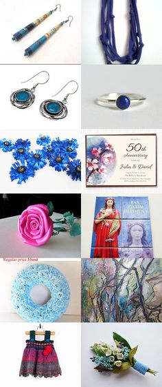 Blue and Red by Anna Margaritou on Etsy--Pinned+with+TreasuryPin.com