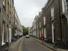Fitzwilliam Street ... a charming Cambridge sidestreet running from the Fitzwilliam Museum to Darwin College (Photograph: Patrick Comerford, 2012)
