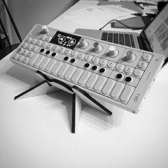 OP-1 sitting on our Hero stand. This is showing one of the two angles…